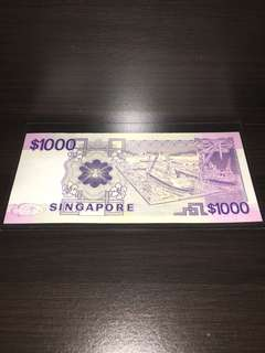 Singapore Paper Note