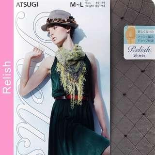 Atsugi relish sheer series shiny touch