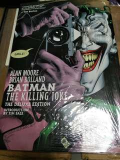 Free with purchase hardcover batman the killing Joke
