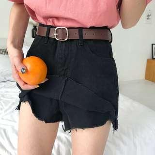 全新 女裝 R586939 牛仔短褲裙學生夏季磨破顯瘦休閑半身裙褲子