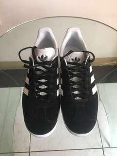 Adidas Gazelle, black, men's size 6