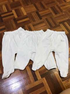 3pcs PUREEN BABY PANTS newborn