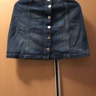 H&M牛仔裙