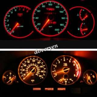 T5 Red Led Socket Type  Speedometer Dashboard Bulb  ★★ White Red Ice-Blue  ★★ New Series 7 Led Chip X 3 Smd  ★★ 2 X Brighter Than Stock  ★★ Fits Mitsubishi Lancer CS GLX Evo Nissan Urvan And Other Car Model Speedometer  In Stock- Self Install
