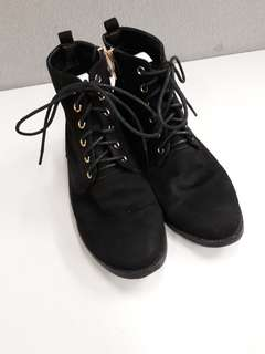 Sofab black gamuza Boots