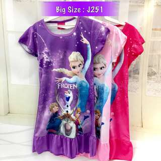 ❤Bargain Sale❤ Frozen Elsa Jersey Dress J251