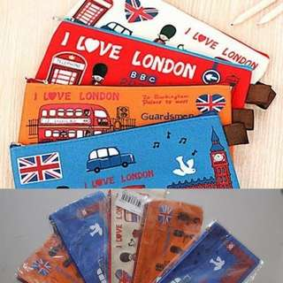 Ex souvenir kado tempat pensil london