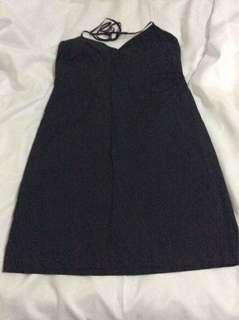 Black Halter Dress by GAP