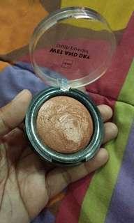 Blush on bronzer