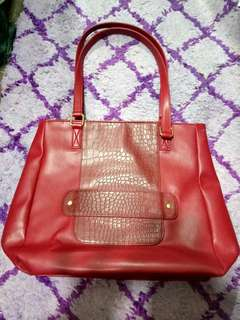 Avon red bag