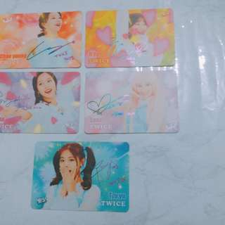 candy pop twice yes cards