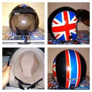 Helm bogo ori size XL