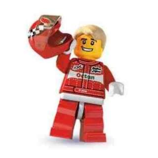 Sealed Lego Minifigure Series 3 Race Car Driver