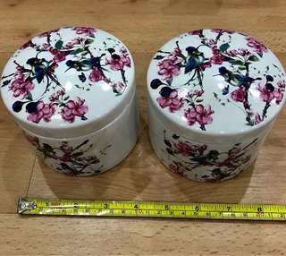 Vintage Collection Porcelain Containers