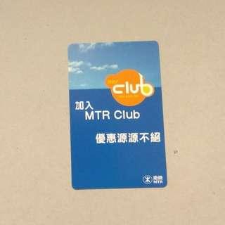 MTR MTR Club  2005年曆卡一張
