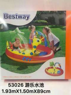 Best way swing pool