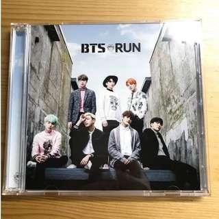 BTS Run CD&DVD