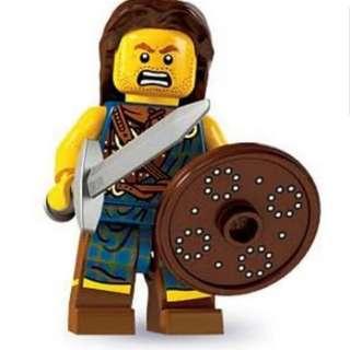 Sealed Lego Minifigure Series 6 Highland Battler
