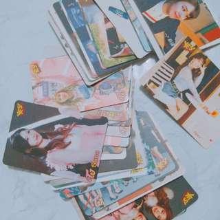 Twice專輯卡 求清全$1