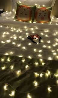 Moon Crescent Shaped String Lights