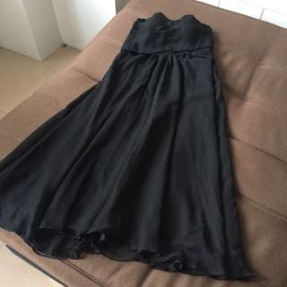 Black Tube Formal Dress