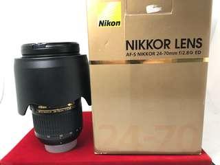 Nikon 24-70mm F2.8G ED