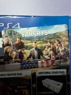Far cry 5 ezlink card
