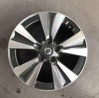 "Used 17"" Original Nissan Rims"