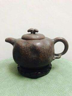 Zhisha Teapot  顾景舟印章 供春壶