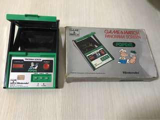 Game & Watch Popeye (Working Condition!)