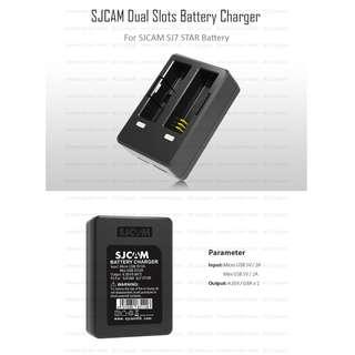 SJCAM SJ7 STAR 1000mAh Battery & Dual-Slot Travel Charger