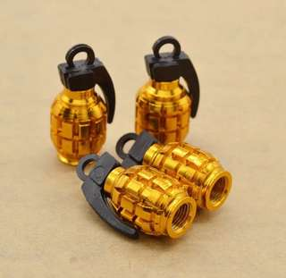 Grenade Shape Tire Valve For Car/Bike/Bicycle