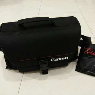 Canon Camera Bag Red Line