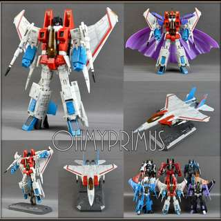 Yes Model YM03 YM-03 Starscream - KO Transformers Masterpiece MP-11 MP11 Reissue