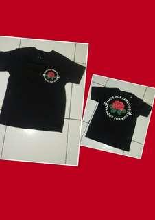 Kaos black anak