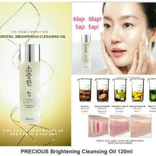 Precious Essentials Brightening Cleansing Oil