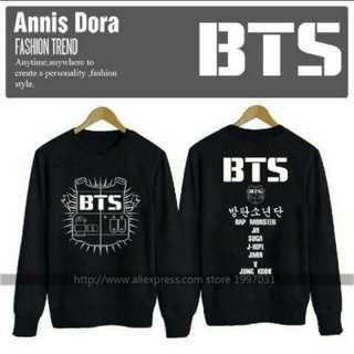 New BTS sweater