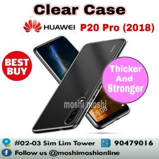 Huawei P20 Pro Clear Case (Thicker and Stronger Type)