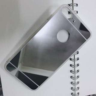 Mirror Acrylic iPhone Case for 7+ in Silver