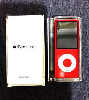 Apple iPod Nano 8GB (PRODUCT) RED