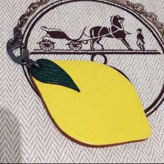 愛馬仕 Hermes 吊飾物 檸檬鎖匙扣 Key Chain 裝飾品