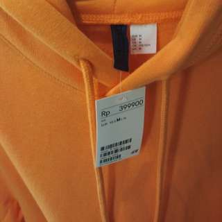 Hoodie jacket H&M Orange New