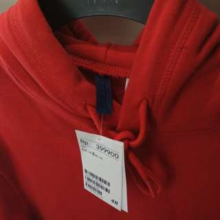 Hoodie H&M Red New