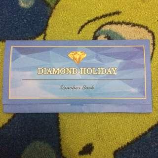 Diamond Holiday Voucher Books