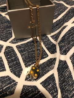 Marc by Marc Jacobs Dice Necklace