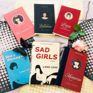 Poetry Books by Lang Leav (ebooks)