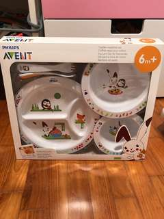 Baby Gift Set Avent toddler mealtime set