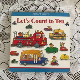 Count Numbers Board Book
