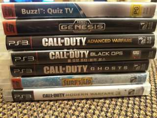 7 in 1 PS3 Games