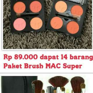 Paket brush MAC